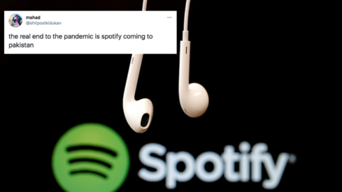 Jalsa playlists, a possible PEMRA ban: Twitter has a field day as Spotify launches in Pakistan