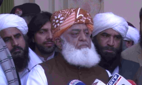 Fazl promises 'big' opposition surprise