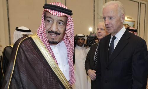 امریکی صدر کی سعودی فرمانروا سے گفتگو میں انسانی حقوق کی اہمیت پر زور
