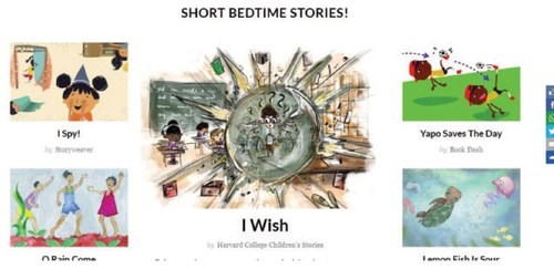 Website review: Free stories!