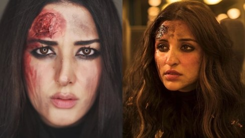 Parineeti Chopra shares makeup artist Natasha's recreation of her look