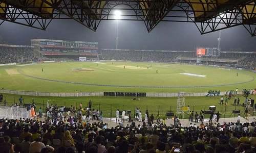 اب 'برابر کی ٹکر' لاہور میں ہونے والے میچوں میں ہی نظر آسکتی ہے
