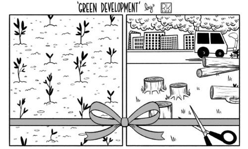 Cartoon: 1 March, 2021