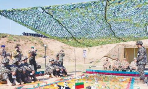 Fourth international Pakistan Army Team Spirit competition kicks off