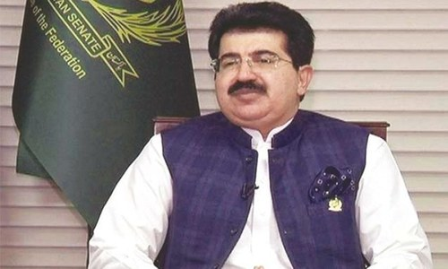 Sanjrani offers four Senate seats to PDM from Balochistan