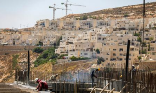 European lawmakers urge action against Israel's 'de-facto annexation'