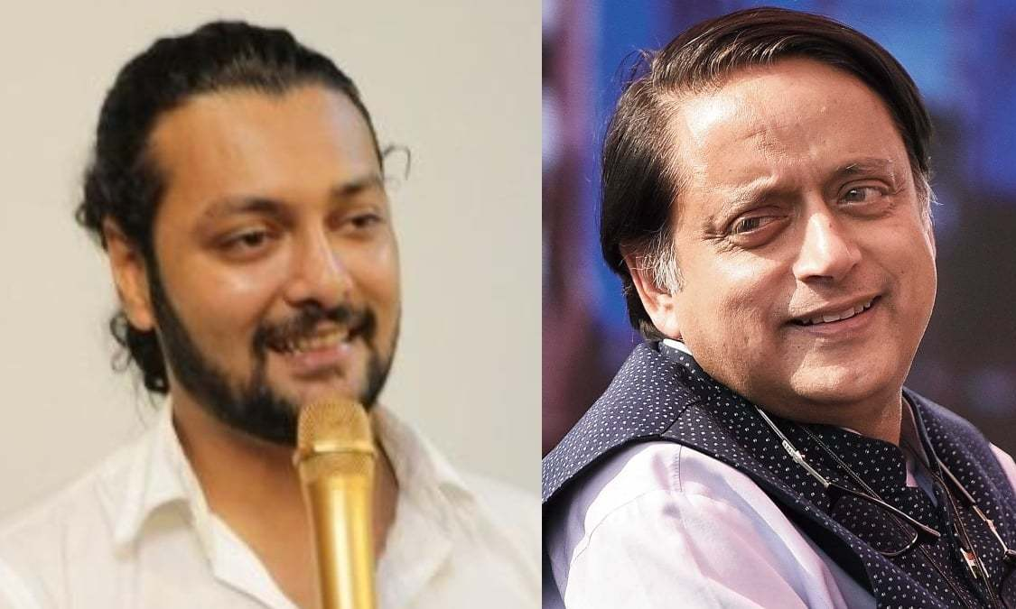 India's Shashi Tharoor has a request for Pakistani comedian Akbar Chaudhry