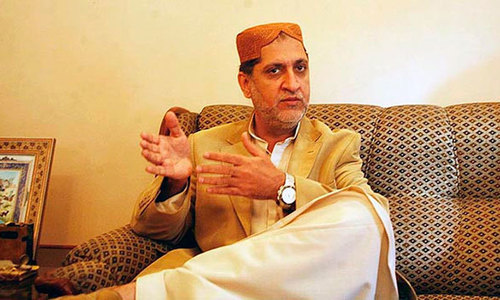 Mengal sees surprise in Senate poll in Balochistan
