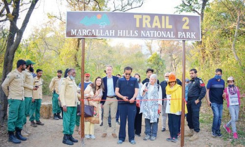 Newly-rehabilitated Trail 2 opened for hikers