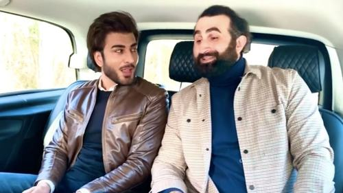 Jamming buddies Imran Abbas and Ertugrul's Celal Al sing Dil Dil Pakistan