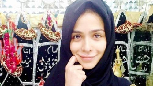 Humaima Malik is praying for the strength to wear a hijab all her life