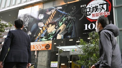 Animated Demon Slayer becomes Japan's highest grossing film