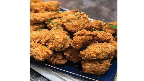Vegan fried 'chicken' that tastes just like chicken