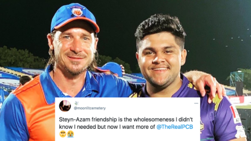 Dale Steyn and Azam Khan's wholesome friendship has PSL fans more depressed than ever