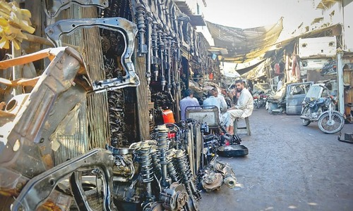 Kabari Market at Shershah struggles amid costly imports, taxes