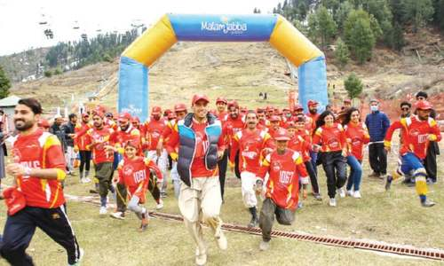 Over 300 athletes participate in Swat Marathon