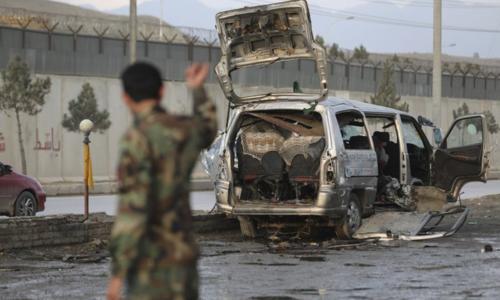 Afghan policewoman hurt, husband dies in attack