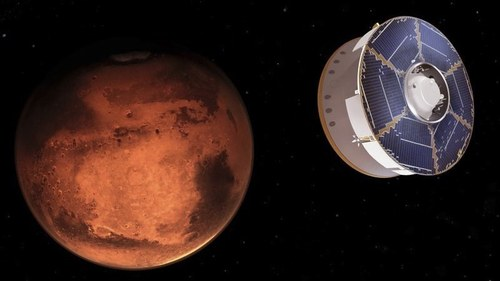 Nasa Mars women scientists tell girls to 'reach for the stars'