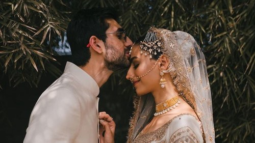 Rehmat Ajmal's wedding video made us cry for all the right reasons.