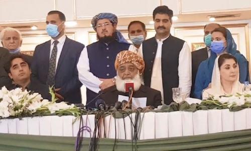 سینیٹ میں ایجنسیوں کی مداخلت رہی تو حقائق منظر عام پر لانے پر مجبور ہوں گے، مولانا فضل الرحمٰن