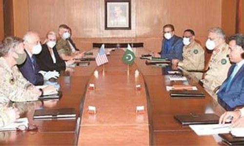 Khalilzad meets Bajwa amid Afghan peace push