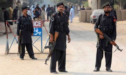 Two Peshawar policemen held for killing youth