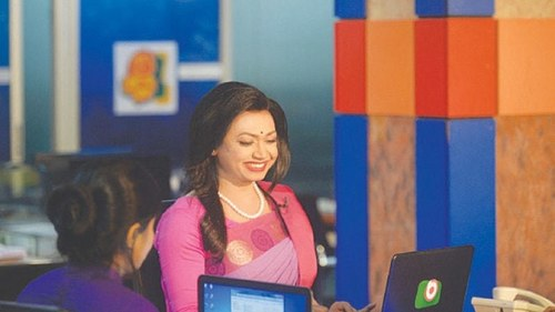 Bangladesh's first transgender news presenter shines in debut broadcast