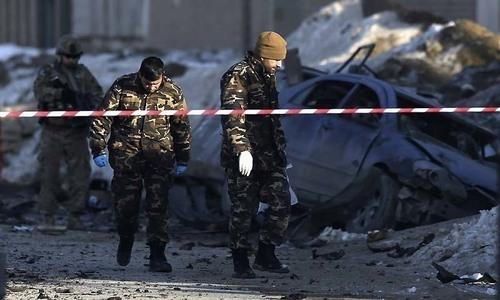 Afghan peace push