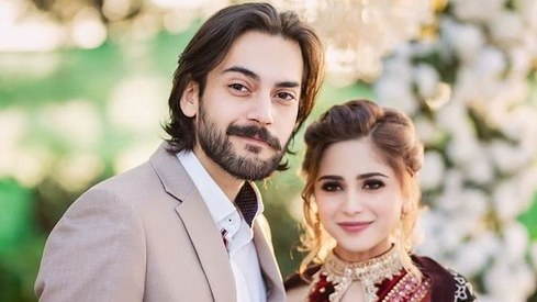 Everyone's favourite lovebirds Aima Baig and Shahbaz Shigri are engaged
