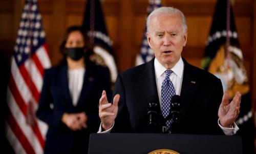 Biden deplores rising anti-Asian violence in US