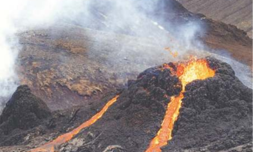 Icelandic volcano subsiding after first eruption in 900 years