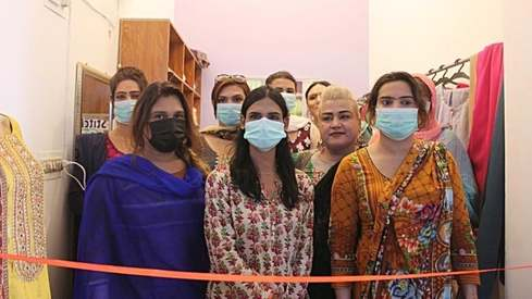 The first commercial trans-led tailor shop just opened up in Karachi and we couldn't be more proud