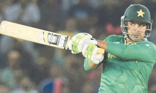 Sharjeel plays down doubts about his fitness on the  eve of Africa tour