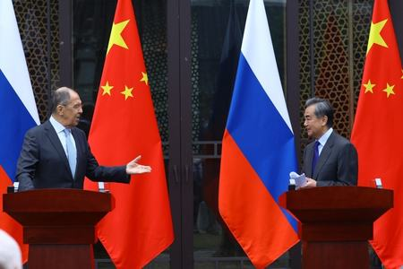Russia and China hit back at Western sanctions