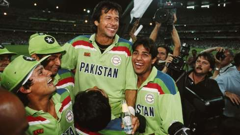 On this day in 1992, Pakistan won the World Cup and Twitter is nostalgic