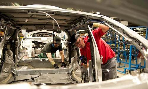 Global car production plunged in 2020, say automakers