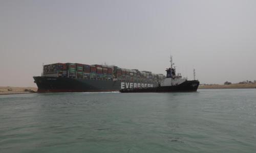 Egypt shuts Suez Canal amid struggle to refloat grounded megaship