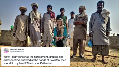 Thank you 'Katherine' for letting us know what Pakistani men are really like