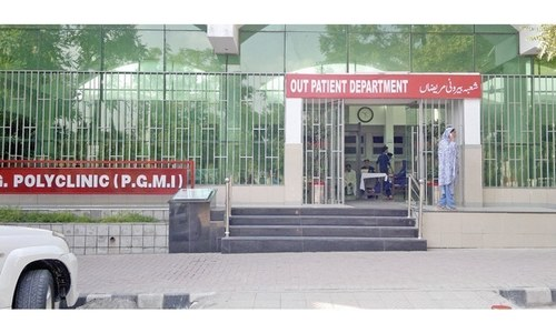 Islamabad's Polyclinic faces staff shortage as more than 180 doctors, nurses battle Covid-19