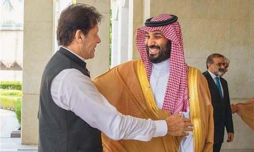 Saudi prince calls PM Imran, invites him to Riyadh