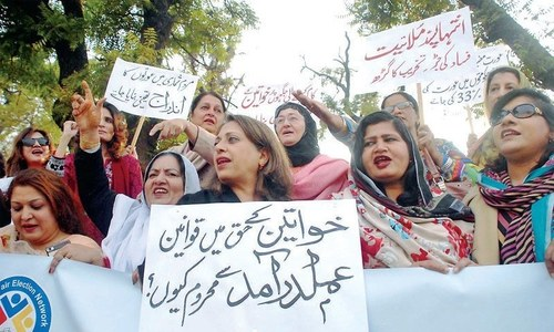 Pakistan loses two spots on Global Gender Gap Index, slides into ranks of worst four countries