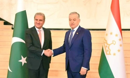 Pakistan, Tajikistan to tap unexplored areas in bilateral ties: FM Qureshi