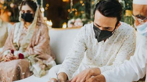 Wedding bells ring as Usman Mukhtar announces he has tied the knot