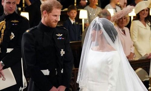 آرچ بشپ کی میگھن و شہزادہ ہیری کی خفیہ شادی کروانے کی تردید