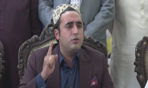 Bilawal calls upon opposition parties to unite against govt