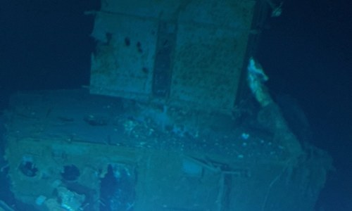 'Deepest wreck dive' reaches US WWII ship off Philippines