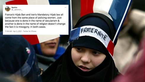 France wants to ban the hijab and Twitter is rightfully outraged