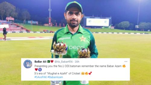 Twitter has a field day with memes as it crowns Babar Azam world's #1 ODI batsman