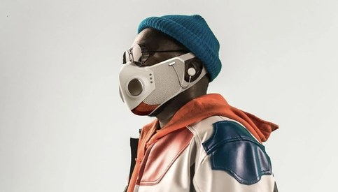What's so special about Will.i.am's facemask and why is it selling for $299?