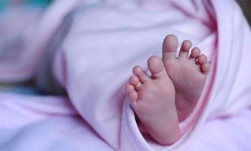حمل سے بچے کی پیدائش تک لاعلم رہنے والی خاتون